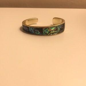 Kendra Scott Serena Cuff bracelet abalone shell